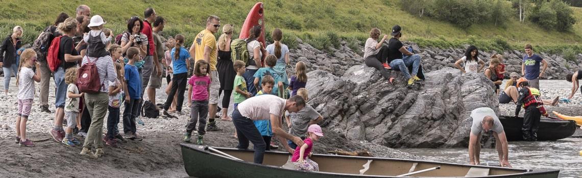 Boot Wasserrettung Rhein Rhy Faescht-min